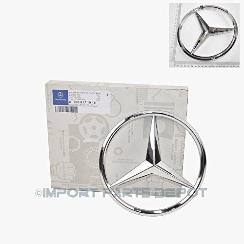 Mercedes-Benz Front Grill Star Emblem Genuine Original 0008171016 CLS550 CLS63 AMG GLK350 ML350 ML550 ML63 AMG SLK250 SLK350 SLK55 AMG