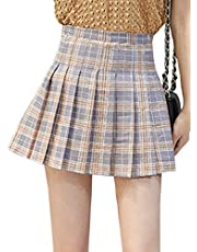 Imagine Girl's Short Pleated School Dresses Teen Girls Tennis Scooters Skirts Skate Skirts
