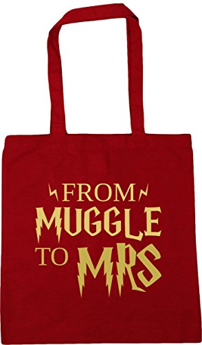HippoWarehouse Shopping From x38cm Red 10 Tote mrs muggle to Bag Classic Beach Gym litres 42cm XrXdqwBv