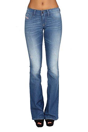 Diesel Women's Livier-Flare Jean, Denim, (Diesel Flare Jeans)