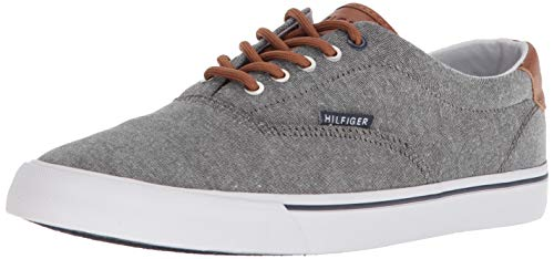 Tommy Hilfiger Men's Phero Sneaker, Black, 11.5 Medium US