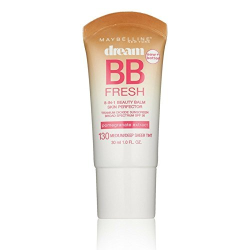 Maybelline Dream Fresh BB 8-in-1 Beauty Balm Skin Perfector SPF 30, Medium/Deep 1 oz ( Pack of 2)