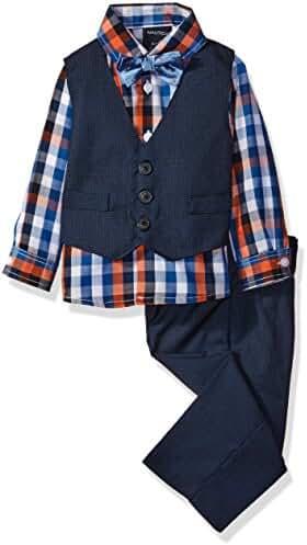 Nautica Baby Boys' Vest, Shirt and Pant Set