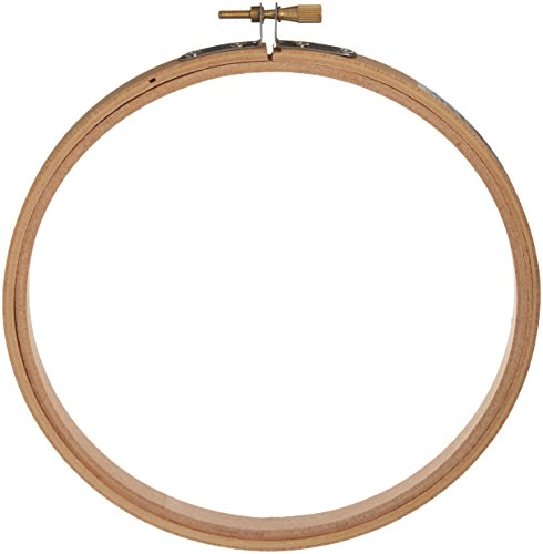 Darice Wood Embroidery Hoops, 6-Inch]()