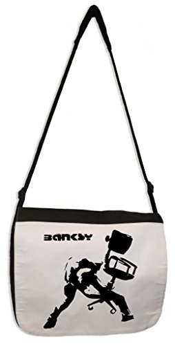 Price comparison product image Tribal T-Shirts Banksy Office Chair Laptop Messenger Bag