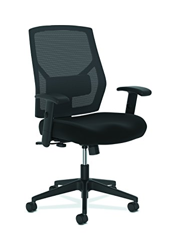 The HON Company BSXVL581ES10T basyx by Task Chair, High-Back Swivel/Tilt, Fabric