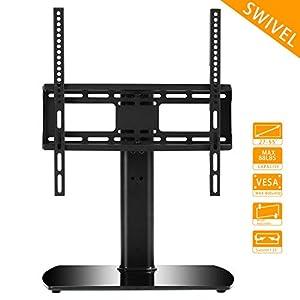 RFIVER Universal Pedestal Table Top TV Stand /TV Bracket /TV riser/TV base – Brilliant TV Stand