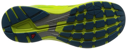 Salomon Mens Sonic Pro 2 Scarpe Da Corsa Da Strada Lime Punch / Mallard Blue / Lime Green