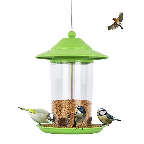 - Sungmor Green Baking Varnish Metal Bird Feeder for Outside | 9.3
