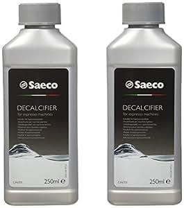 Saeco CA6701/00 - Descalcificador para cafeteras espresso, 250 ml, pack de 2