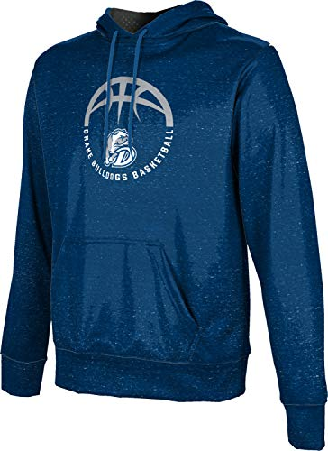 ProSphere Drake University Basketball Boys' Pullover Hoodie, School Spirit Sweatshirt (Heather) 10042 Blue and Gray