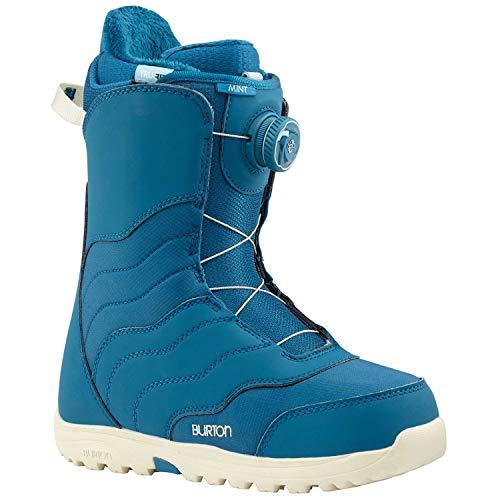 Boots Mountain Snowboard All Womens (Burton Mint Boa Snowboard Boot 2018 - Women's Blue 7.5)