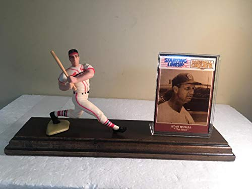 Stan Musial St. Louis Cardinals Starting Lineup Figure Mounted Custom Made Wood Plaque ()