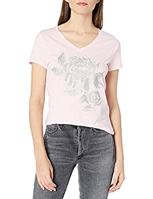 Hanes Women's Short Sleeve Graphic V-neck Tee (multiple graphics available)