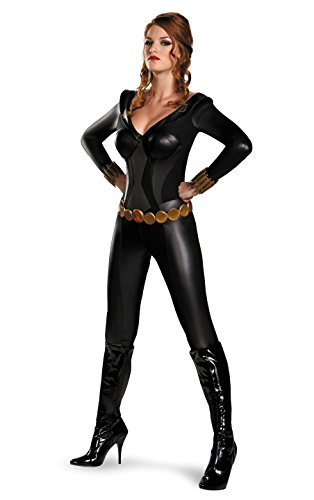 Black Widow Bustier Costume - Small - Dress Size 4-6