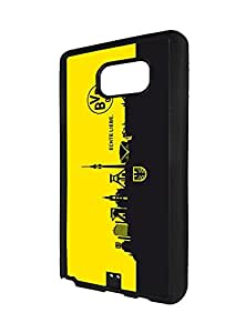 Romantic Samsung Galaxy Note 5 BVB09 Borussia Dortmund Theme Brand Logo, Spigen Handy Fundas Galaxy Note 5 Phone Case Fundas for Logo Brand Samsung Galaxy Note 5 Hard Back Case for Boys