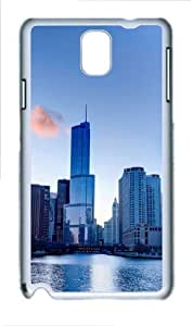 Morning In Illinois Polycarbonate Hard Case Cover for Samsung Galaxy Note 3/ Note III / N9000 - Polycarbonate - White