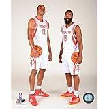 "Dwight Howard James Harden Houston Rockets 2013-2014 NBA Studio Photo (Size: 8"" x 10"")"