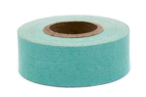 (ChromaLabel 1 inch Color-Code Labeling Tape   500 inch Roll (Aqua) )