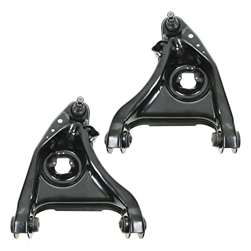 Front Lower Control Arms w/ Ball Joints Pair Set for 95-02 Ford Lincoln (Ford Lincoln Mercury Lower Ball)
