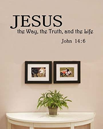 Amazon Com Jesus The Way The Truth And The Life John 14 6 Vinyl