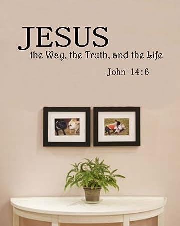 Amazon Com Jesus The Way The Truth And The Life John 14 6 Vinyl