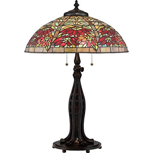 Quoizel TF2600TVA Three Light Table Lamp ()