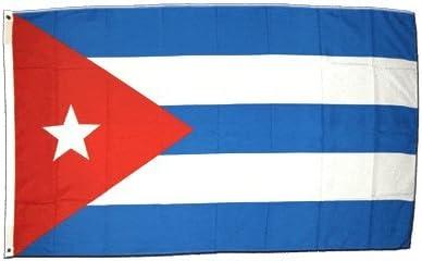 La bandera de Cuba 150 x 250 cm XXL: Amazon.es: Deportes y aire ...