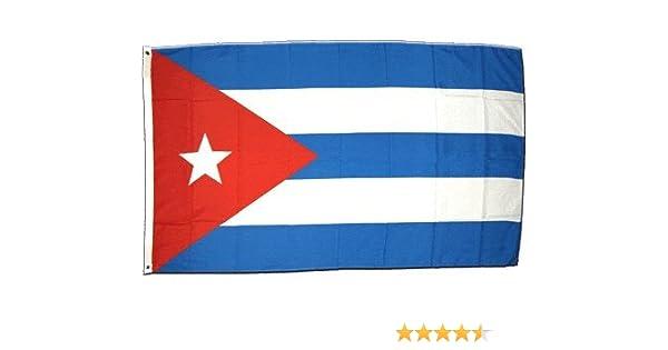 La bandera de Cuba 150 x 250 cm XXL: Amazon.es: Deportes y aire libre