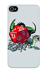 KBHxkjT2075kOSsA Case Cover, Fashionable Iphone 4/4s Case - Dungeons And Dragons Dragon Dice Game Games Fantasy