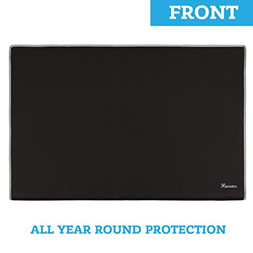 Image of Garnetics Outdoor TV Cover 60-65 inch - Weatherproof Protection for
