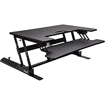 Amazon Com Electrical Desk Riser Standing Desk Sit To