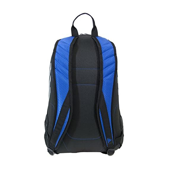 adidas Stadium Team Backpack 6 Lifetime warranty - built to last. Front pocket is built with FreshPAK ventilation for your cleats and sneakers. Hydroshield water-resistant base, extra durable 3d ripstop fabric, and space for your team branding.