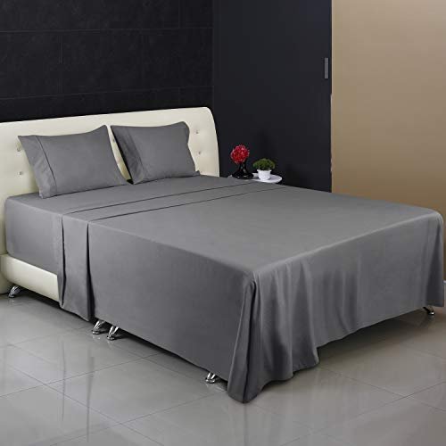 Utopia Bedding 4-Piece Full Bed Sheet Set (Grey)