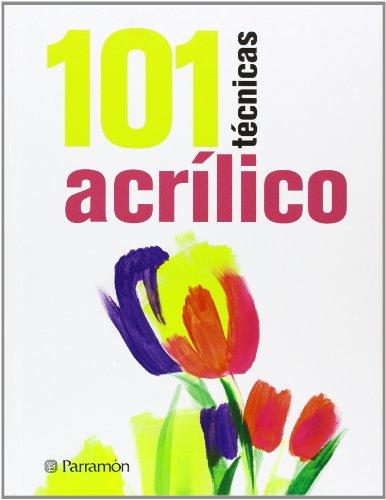 Descargar Libro 101 Técnicas Acrílico David Sanmiguel
