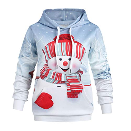 Toddler Baby Girls Boys Snowman Printed Christmas Hooded
