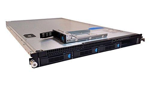 Quanta S98J 1U Rackmount Server Case 4 X 3.5 Hotswap Bay w/500W Power Supply