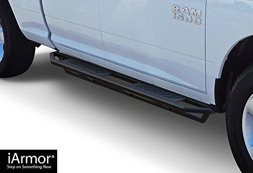 Steps Armor Custom Fit 2009-2018 Dodge Ram 1500 Quad Cab Pickup (Nerf Bars | Side Steps | Side Bars) ()
