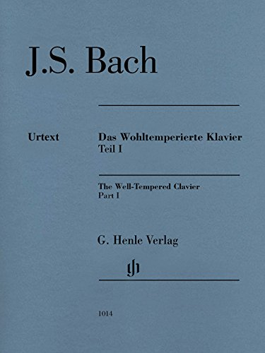 Well-Tempered Clavier Bwv 846-869 Part I (No Fingering) Das Wohltemperierte Klavier