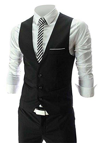 Zicac Men's Top Designed Casual Slim Fit Skinny dress Vest