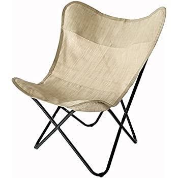C Hopetree Butterfly Chair, Indoor Outdoor Sling Camping Chair, Patio Deck  Chair,