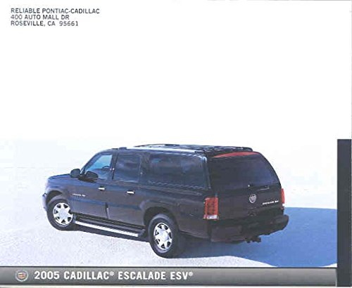 2005 Cadillac Escalade ESV Mailer Brochure 2005 Escalade Collectible