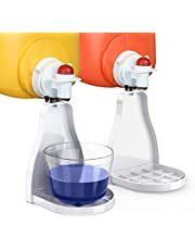 Fabric Softener or Laundry Detergent Cup Holder & Drip Tray Catcher for Most Economic Sized Bottles, no More Drips or Mess