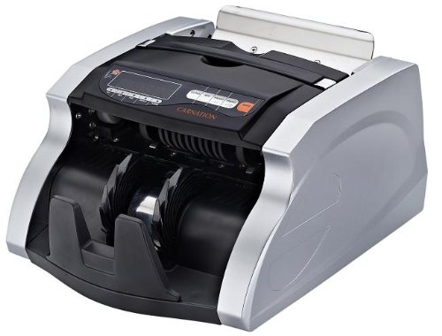 CARNATION Bill Counter CR180 with UV and MG Counterfeit Detection by Carnation