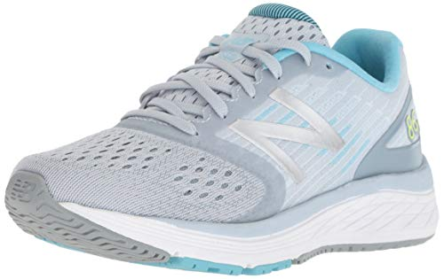New Balance Girls' 860v9 Running Shoe, Light Cyclone, 1 M US Little Kid
