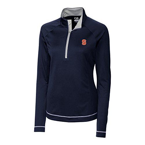 Syracuse Embroidered Long Sleeve (NCAA Syracuse Orange Long sleeve Evolve Half Zip Jacket, X-Small, Navy Blue)