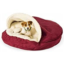 Snoozer 87188 Large Luxury Cozy Cave, Red