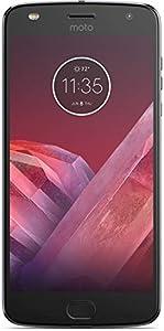 Motorola Moto Z2 Play XT1710-10 Dual Sim 4G LTE (4GB/64GB) GSM Factory Unlocked International Version (Lunar Grey)