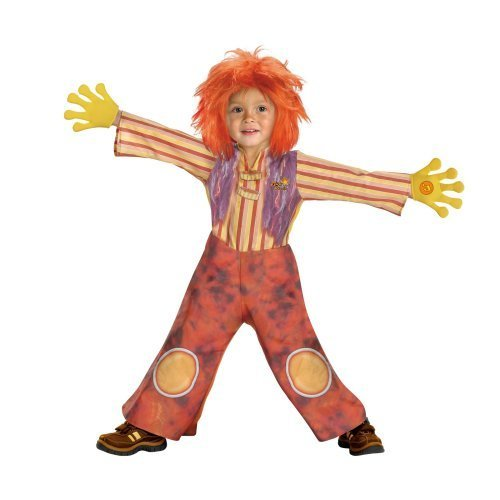 Doodlebops Moe Doodle Deluxe Costume (Child Toddler 3t-4t Size)