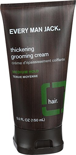 Every Man Jack Thickening Grooming Cream - Medium Hold - 5 oz by Every Man Jack from Every Man Jack